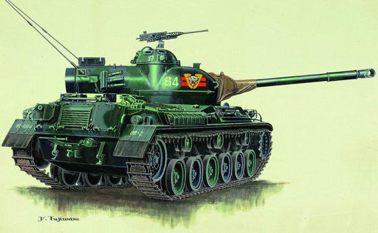 Trumpeter Military Models 1/72 Japanese Type 61 Tank Kit