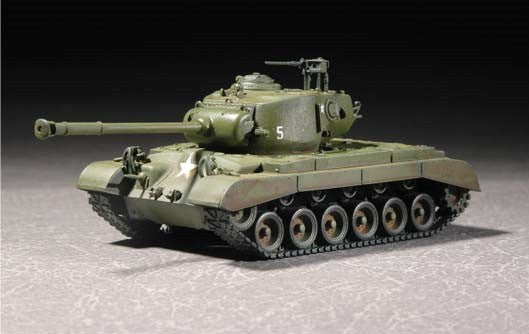 Trumpeter Military Models 1/72 US M26A1 Pershing Heavy Tank Kit