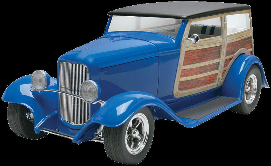 Revell-Monogram Cars 1/25 1948 Ford Police Coupe (2 in 1 Kit)
