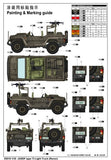 Trumpeter Military Models 1/35 JGSDF Type 73 Light Recon Truck Kit