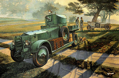 Roden Military 1/35 Pattern 1920 MkI British Armored Car Kit