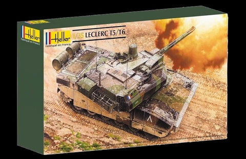 Heller Military 1/35 Leclerc T5/T6 Main Battle Tank Kit