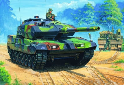 Hobby Boss Military 1/35 German Leopard 2 2 A6EX Kit