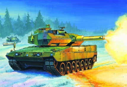 Hobby Boss Military 1/35 STRV.122 Swedich Tank Kit