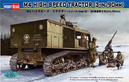 Hobby Boss Military 1/35 M4 High Speed Tractor Kit