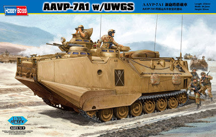 Hobby Boss Military 1/35 AAVP-7A1 W/uwgs Kit