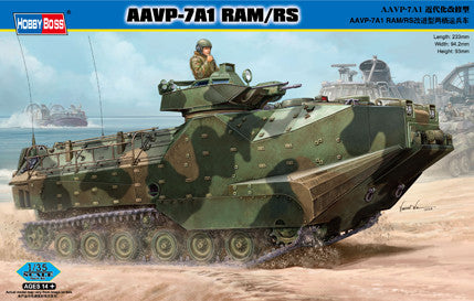 Hobby Boss Military 1/35 AAVP-7A1 RAM/RS Kit