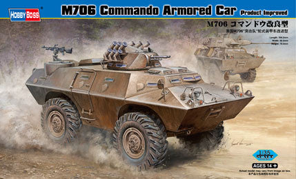 Hobby Boss Military 1/35 M706 Improved Armories Car Kit