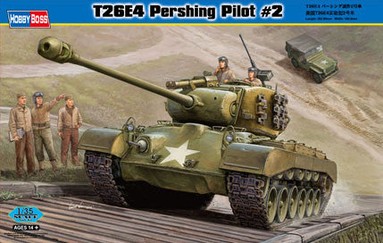 Hobby Boss Military 1/35 T26E4 Pershing w/Pilot #2 Kit