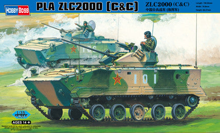 Hobby Boss Military 1/35 PLA ZLC2000 ACV KIT