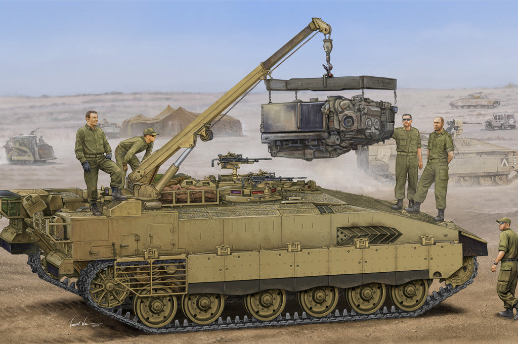 Hobby Boss Military 1/35 Israel Merkava ARV Kit