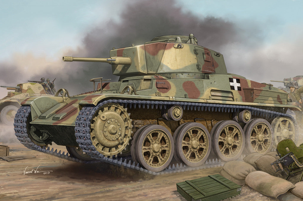 Hobby Boss Military 1/35 Hungarian LT Tank Kit