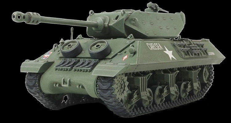 Tamiya Military 1/48 British M10 II C Achilles Tank Destroyer Kit