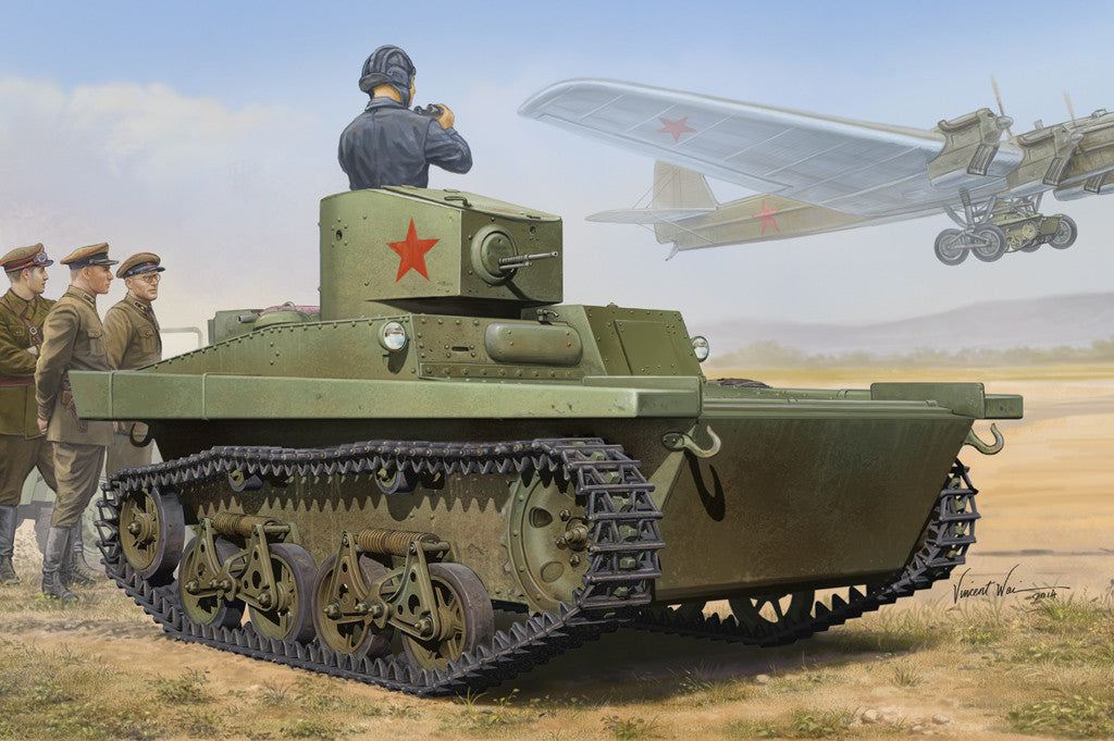Hobby Boss Military 1/35 Soviet T-37A Light Tank Kit