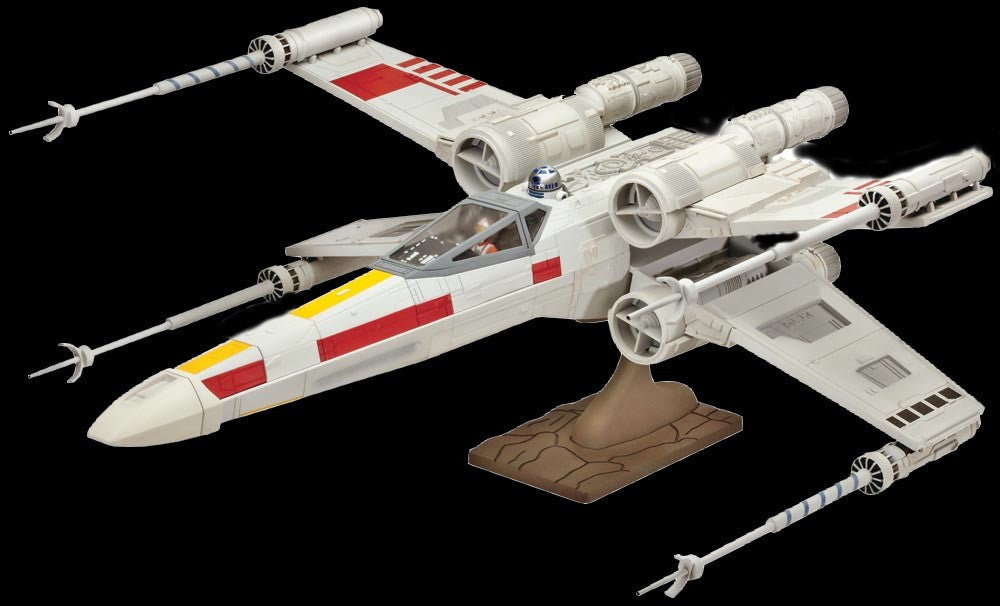 Revell-Monogram Sci-Fi Star Wars: X-Wing Fighter Snap Kit