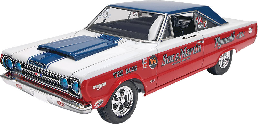 Revell-Monogram Cars 1/25 1969 Chevy Nova SS Kit