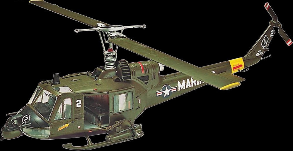 Revell-Monogram Aircraft 1/48 Huey Hog Helicopter Kit