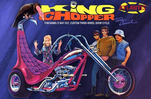 Atlantis Cars 1/8 Tom Daniel King Chopper II Kit