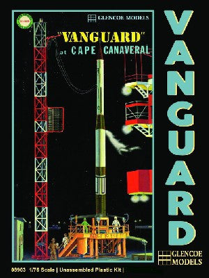 Glencoe Space 1/76 Vanguard Rocket & Gantry Kit