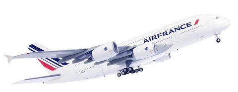 Heller Aircraft 1/125 A380 Air France Commercial Airliner w/Paint & Glue Kit