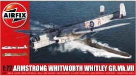 Airfix Aircraft 1/72 Armstrong Whitworth Whitley Mk VII Heavy Bomber Kit