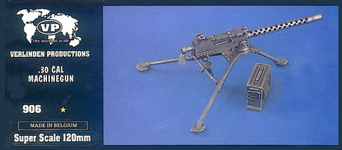 Verlinden Productions 120mm-CAL.30 Machine Gun
