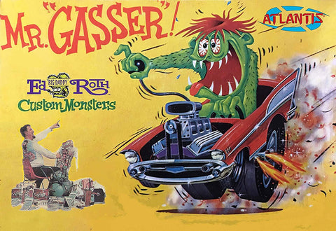 Atlantis Cars 1/25 Ed Big Daddy Roth Mr. Gasser Car w/Monster Figure (formerly Revell) Kit