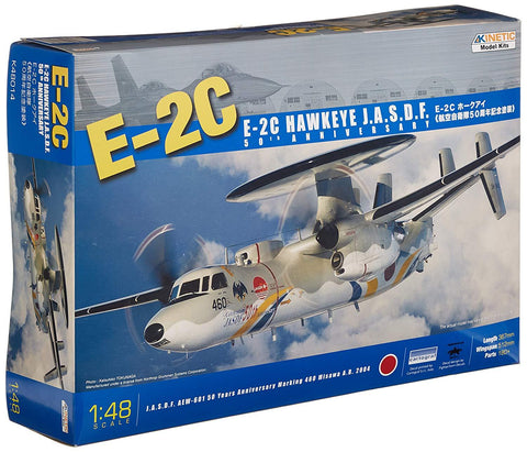 Kinetic Aircraft 1/48 E-2C Hawkeye JASDF 50th Kit