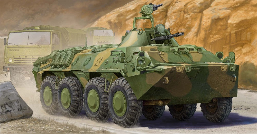 Trumpeter Military Models 1/35 Russian BTR70 Armored Personnel Carrier in Afghanistan Kit
