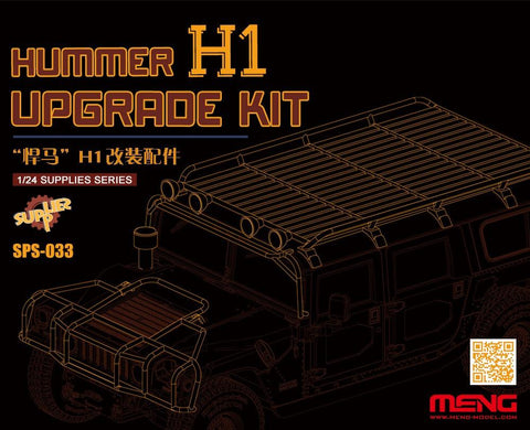 Meng Military 1/24 Hummer Hi Upgrade Kit