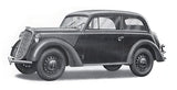 Ace Military Models 1/72 Olympia Model 1937 Saloon Staff Car Kit