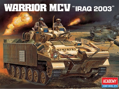Academy Military 1/35 Warrior MCV Iraq 2003 Combat Vehicle Kit