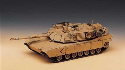 Academy Military 1/35 M1A1 Abrams US Army Tank Iraq 2003 Kit