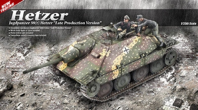 Academy Military 1/35 Jagdpanzer 38(t) Hetzer Late Tank Kit