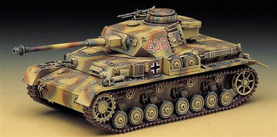 Academy Military 1/35 PzKpfw IV Ausf H Tank Kit