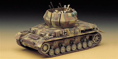 Academy Military 1/35 Wirbelwind Quad 20mm Tank Kit