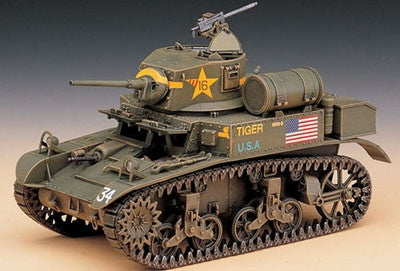 Academy Military 1/35 M3A1 Stuart Light Tank Kit