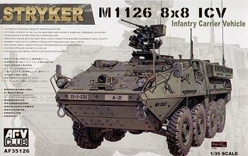 AFV Club Military 1/35 Stryker M1126 ICV Kit