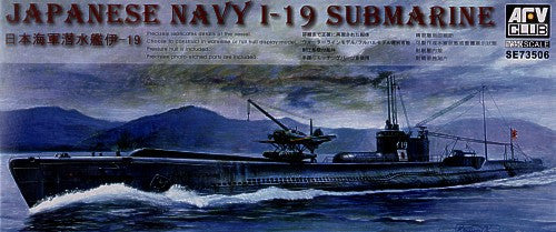 AFV Club Ships 1/350 IJN I19 Submarine Kit