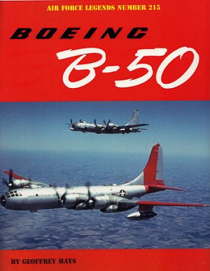 Ginter Books - Air Force Legends: Boeing B50
