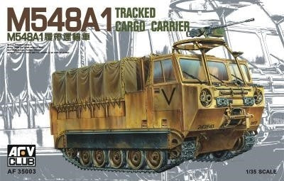 AFV Club Military 1/35 M548A1 Tracked Cargo Carrier Kit