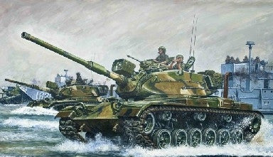 AFV Club Military 1/35 M60A1 Patton Main Battle Tank Kit