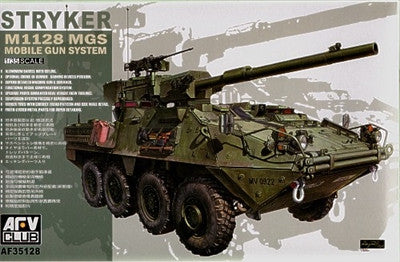 AFV Club Military 1/35 Stryker M1128 MGS Vehicle Kit