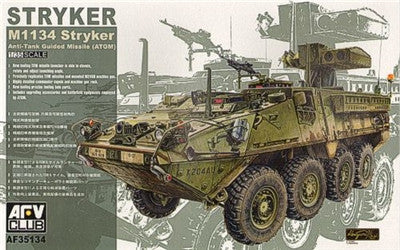 AFV Club Military 1/35 Stryker M1134 ATGM Kit