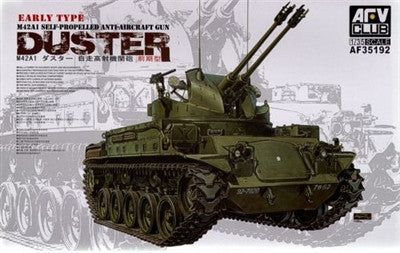 AFV Club Military 1/35 M42A1 Duster Early Tank w/Self-Propelled AA Gun Kit