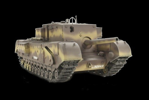 AFV Club Military 1/35 British Churchill Tank w/3 inch 20CWR Gun Kit
