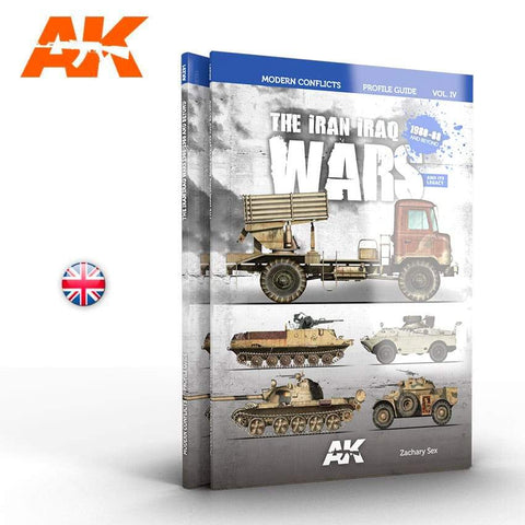 AK Interactive Modern Conflicts Vol. 4: The Iran Iraq War 1980-1988 Profile Guide Book