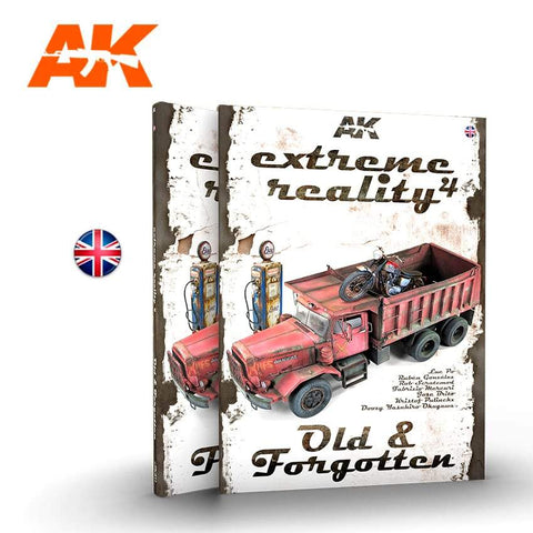 AK Interactive Books - Extreme Reality 4: Old & Forgotten Book