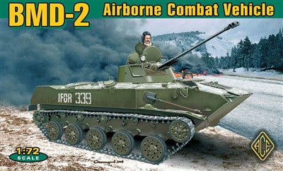 Ace Military Models 1/72 BMD2 Soviet Airborne Combat Vehicle Kit