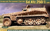 Ace Military Models 1/72 SdKfz 250/1 (alt) Armored Personnel Carrier Kit